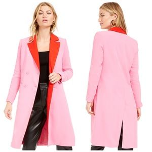 Becca Tilley Bar III Double Breasted Duster Jacket
